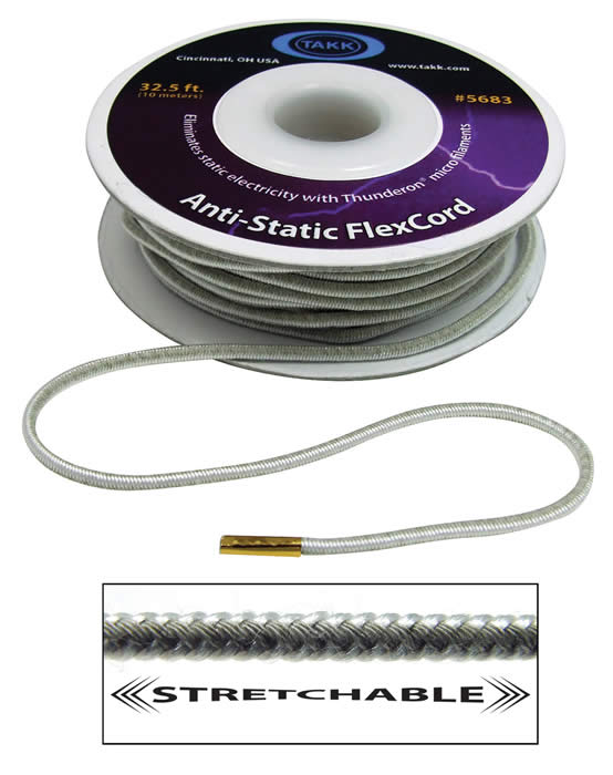 TAKK Ainti-Static Stretchable FlexCord